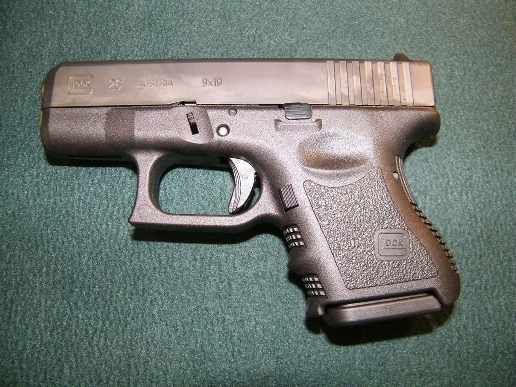 Glock 26 nueva 2 carg. 4ta generación